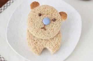 Оригинальный бутерброд для детей