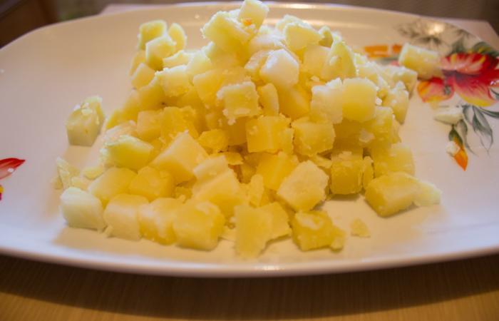 Рецепт оливье с сметаной