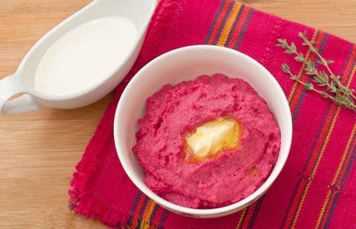 Свекольное пюре - пошаговый рецепт с фото