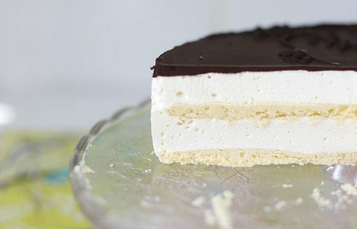 Торт птичье молоко на сметане рецепт пошагово 8