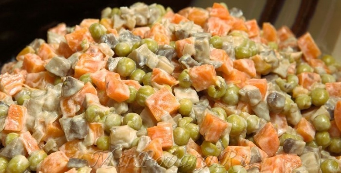 Салаты без грибов рецепты простые и вкусные