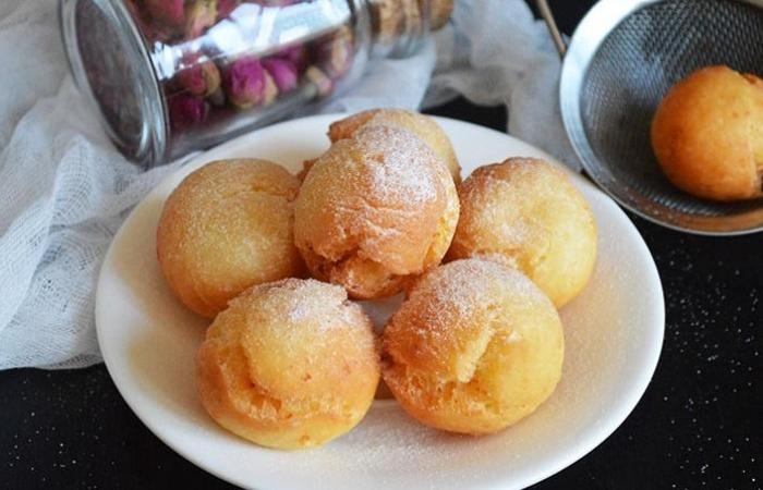 Творожные пончики в духовкеы