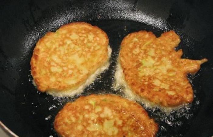 Оладьи из кабачков рецепт пошагово на сковороде сладкие