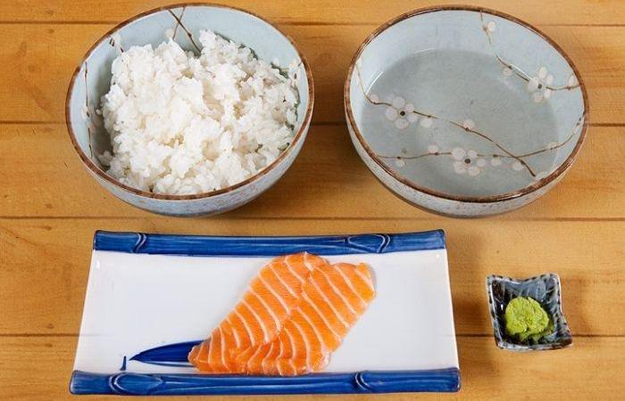 как подготовить лосось для роллов