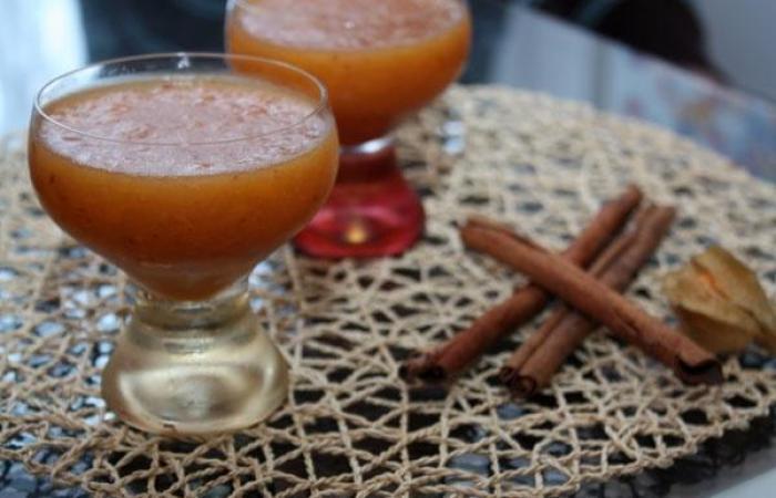 как приготовить желе из персиков