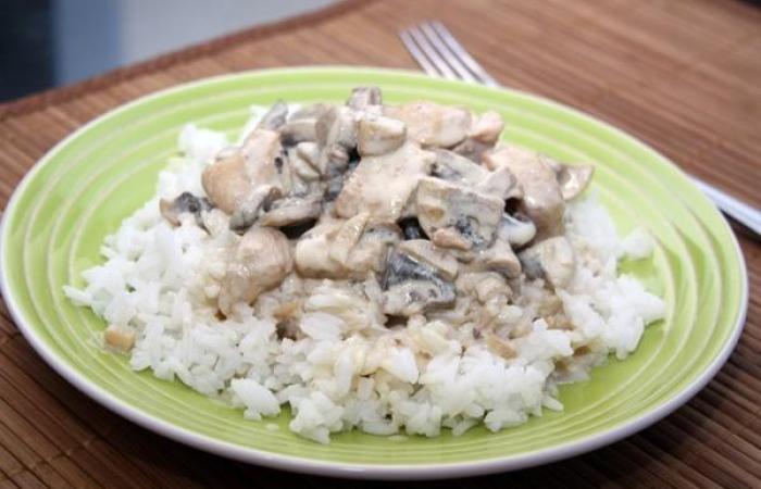 рецепт сливочного соуса с курицей к рису