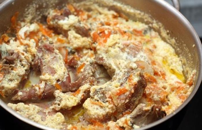 Фоторецепт приготовления салатов с кальмарами