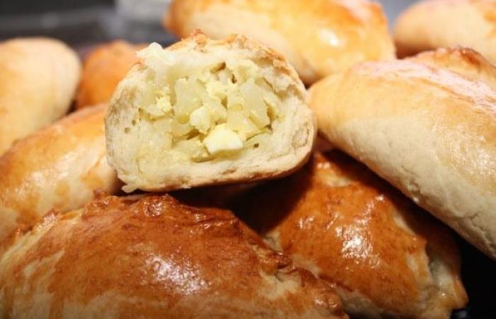 пирожки с капустой и яйцом в духовке пошаговый рецепт с фото быстро