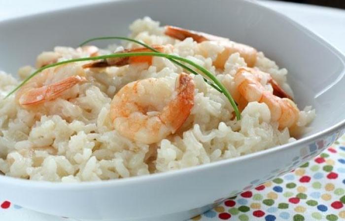 Лучшие блюда Европейской кухни - ризотто с креветками
