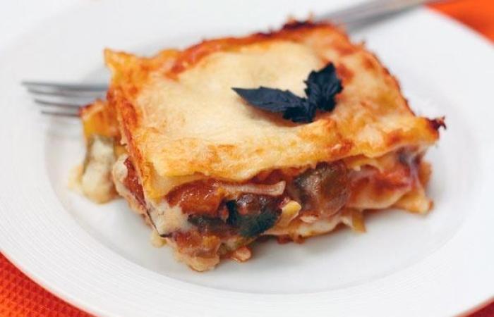 Лучшие блюда Европейской кухни - итальянская овощная лазанья