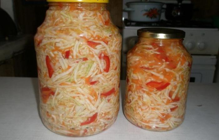 Рецепты из капусты и перца на зиму рецепты