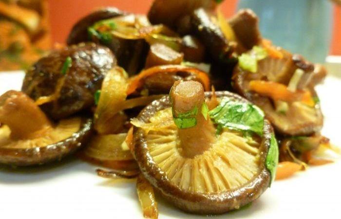 Салат грибы шиитаке рецепты приготовления тюнинг автомобилей качкаи