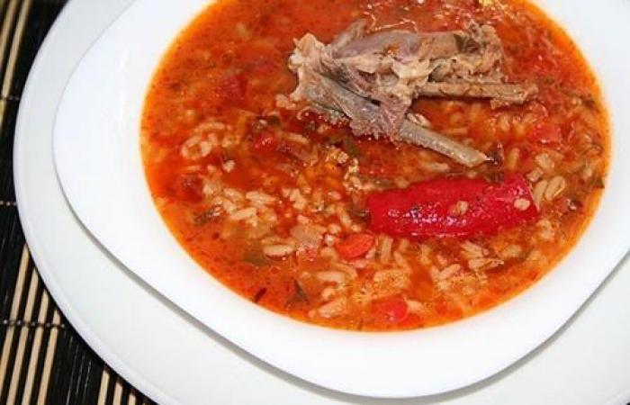 суп-харчо из говядины рецепт пошаговый с фото