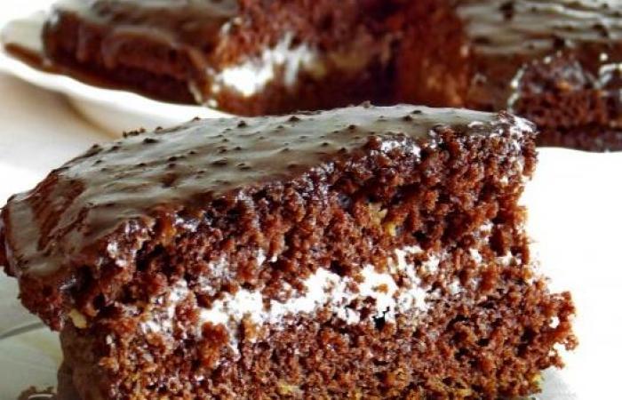 Фото ирецепт шоколадного торта