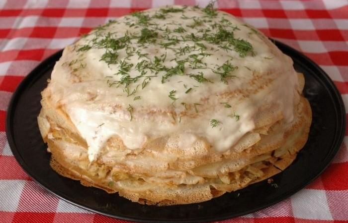 Пирог на праздничный стол рецепты с фото