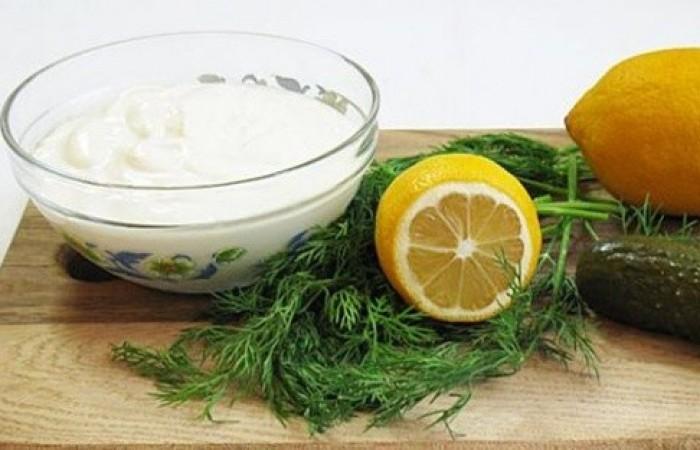 Рецепт соуса с солеными огурцами с фото