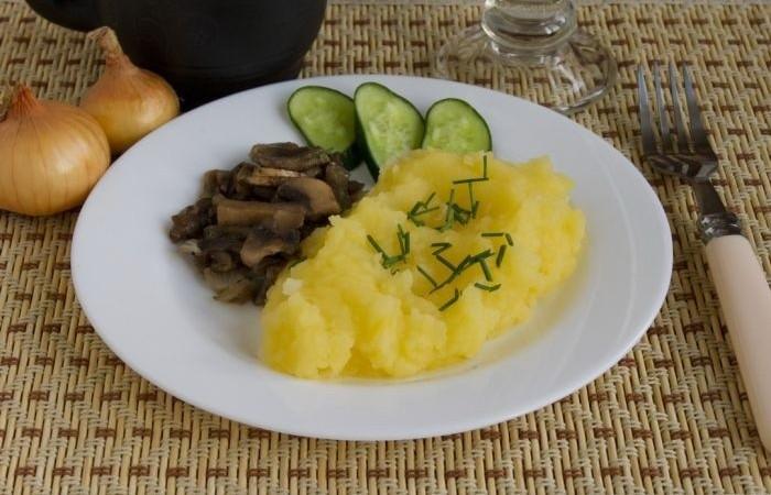 Пюре картофельное рецепт с луком