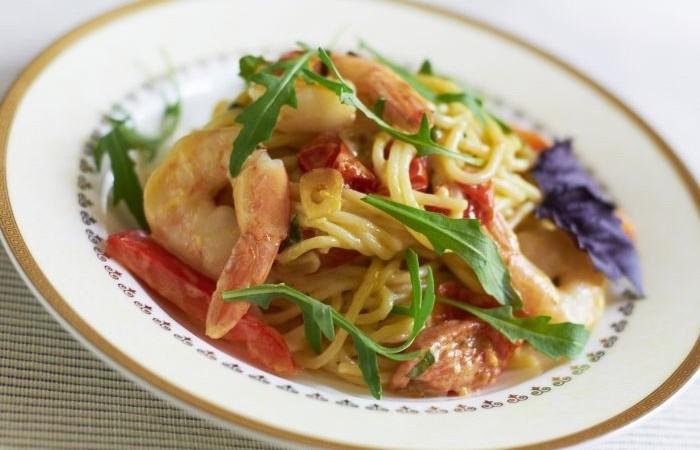 рецепт салата с креветками пошаговый рецепт