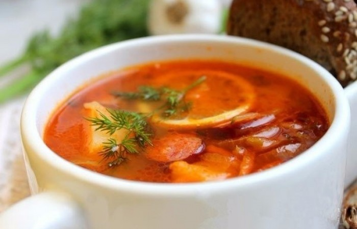 простой рецепт солянка суп рецепт с