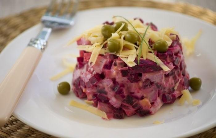 Рецепты свекольных салатов