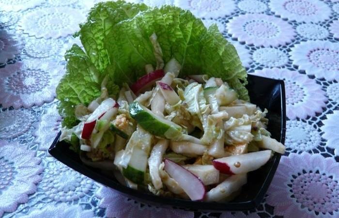 рецепт заправка салата из капусты