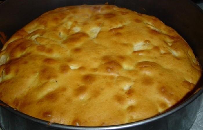 Тесто на кефире на яблочный пирог рецепт