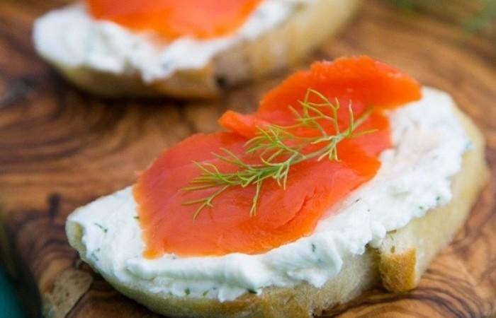 Бутерброды из красной рыбы рецепты 14