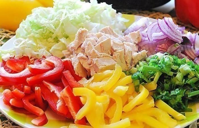 Салаты похожие на салат радуга с фото