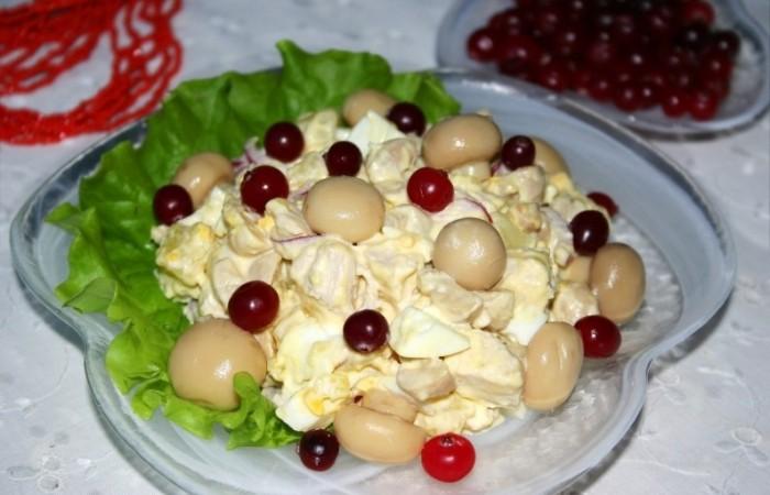 Салат лесной рецепт с