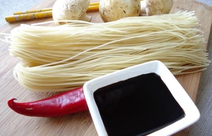 Как приготовить соевою лапшу