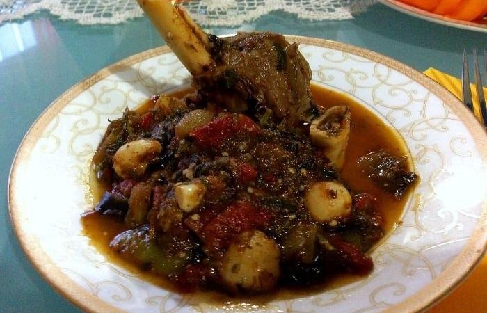 Тушеная баранина с овощами рецепт с пошагово в