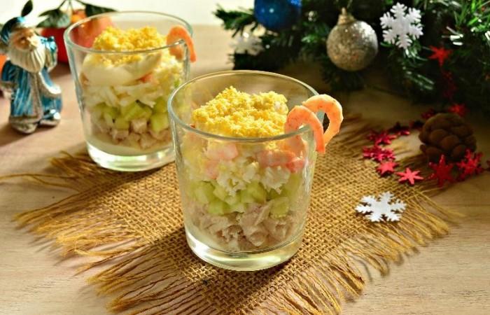 как приготовить салат с креветками пошаговый рецепт