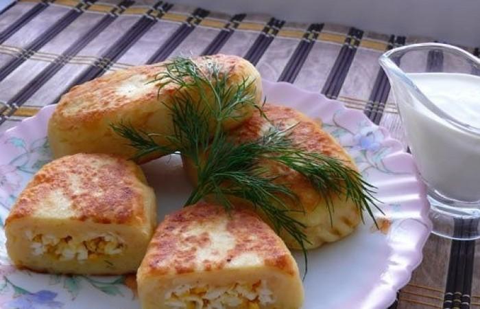 Зразы с яйцом рецепт с фото пошагово
