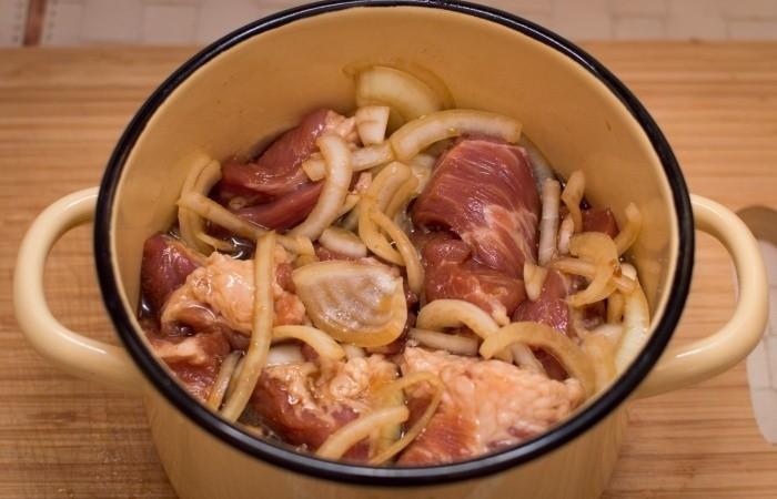 Рецепт маринада шашлыка из свинины с соевым соусом