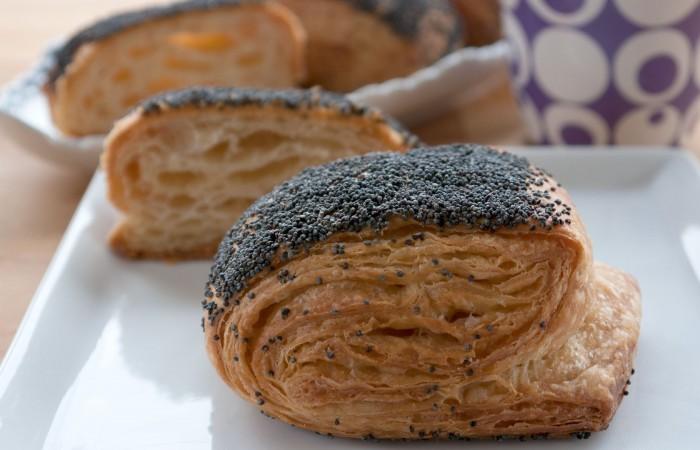 Рецепт пирог слоеный с маком