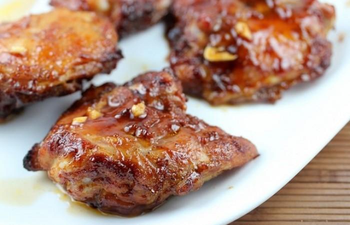 Куриные бедра в духовке с корочкой рецепт