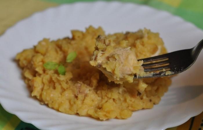Гороховое пюре с курицей рецепт в мультиварке