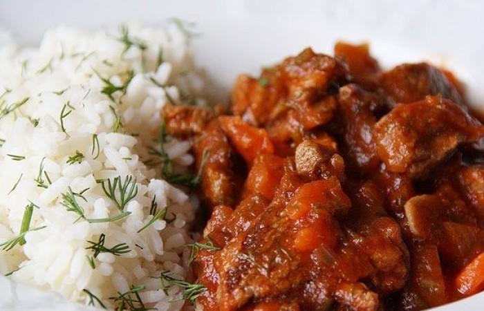 Мясо с овощами в мультиварке рецепт пошаговый 141