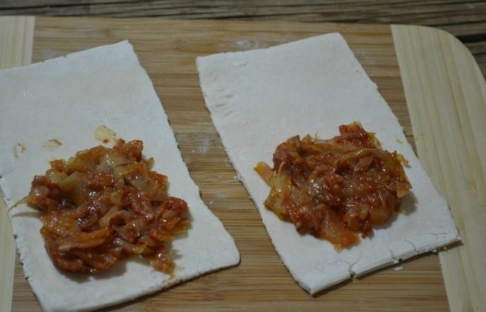 Пирог с мясом на бездрожжевом тесте рецепт с