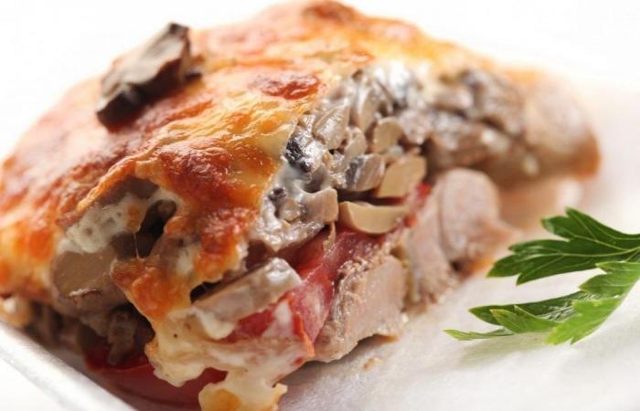 Мясо по купечески пошаговое фото