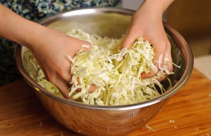 Как сделать капусту салатной 130
