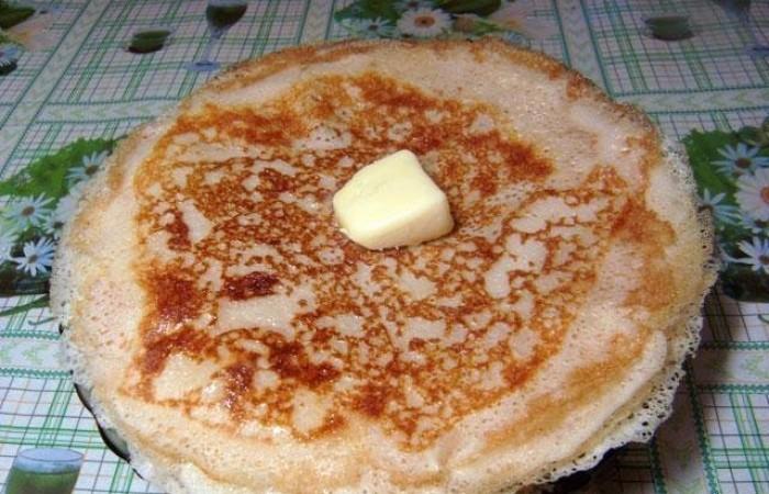Ажурные тонкие блины на молоке рецепт с пошагово