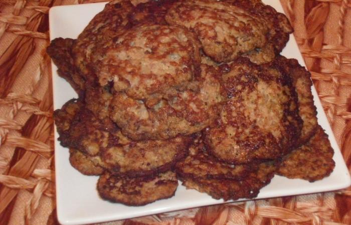 Печеночники с рисом из куриной печени с фото