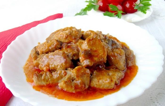 поджарка из свинины рецепт мультиварка
