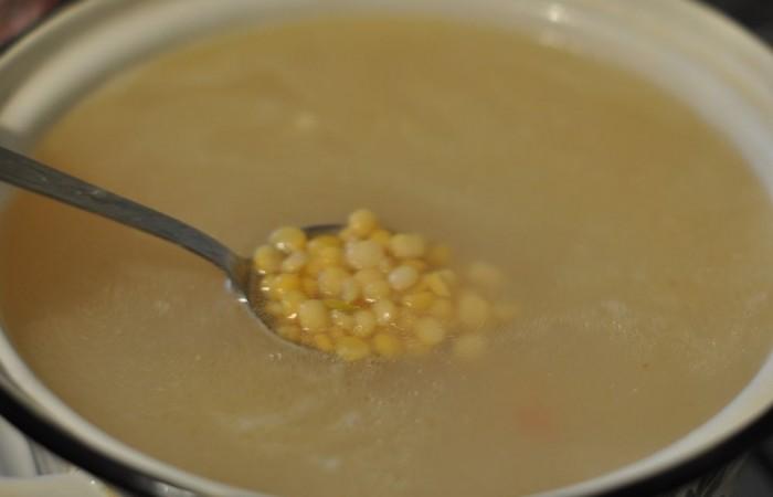 Суп гороховый с ребрышками пошаговый рецепт с фото