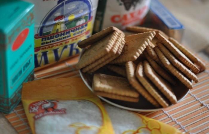 Десерты из печенья без выпечки пошаговый рецепт с