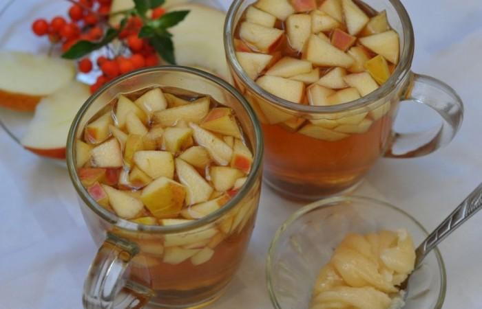 Чай корица с яблоком
