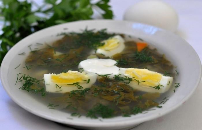 Как приготовить в мультиварке суп щавель