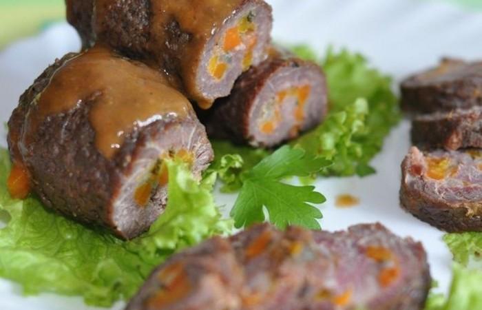 Рулетики из говядины с начинкой рецепты пошагово