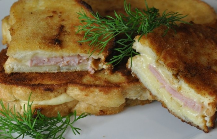 горячие бутерброды на сковороде пошаговый рецепт